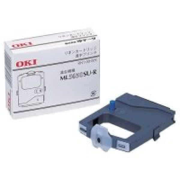 画像1: OKI(沖データ)ML5650SU-R用インクリボン 黒 RN6-00-009 1箱(6本) (1)