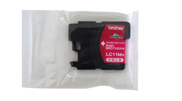 画像1: 【単品】ブラザー LC11M マゼンダ リサイクルインク (1)