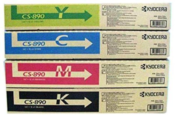 画像1: 京セラ CS-890 純正トナー ■4色セット (1)