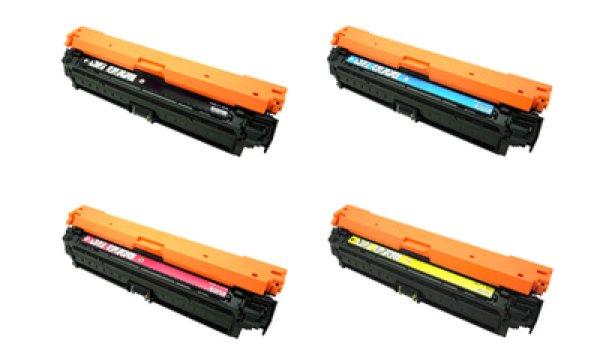 画像1: キャノン トナーカートリッジ322II リサイクルトナー 4色セット【大容量】 (CRG-322II) (1)