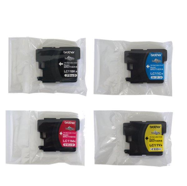 画像1: ブラザー LC11BK/C/M/Y リサイクルインク 4色パック (1)